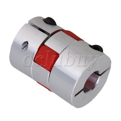 12mm x 14 mm CNC Flexible Plum Coupling Shaft Coupler D30 L40 Finish Maching