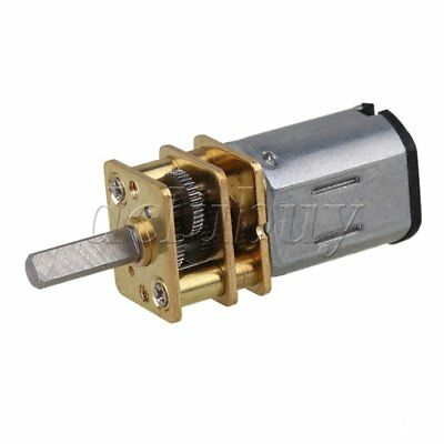 DC6v Metal  GA12-N20 Silver Mini 150RPM Speed Gear Electric Motor Gearwheel