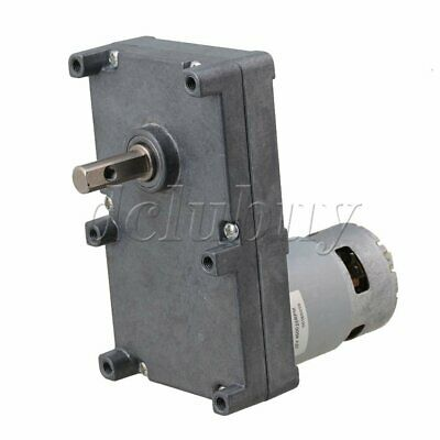DC12V Speed Reduction 2.5RPM Gear Motor 350KG.CM Metal Gearbox Motor