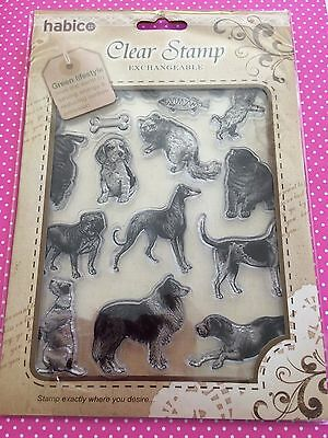 Set Of Clear Stamps Dogs And Cats