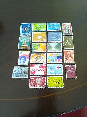 2O Used Stamps Of Netherlands