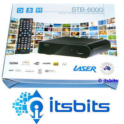 Laser Stb-6000Re Hd Digital Recorder And Set Top Box Hdmi & Composite Repack