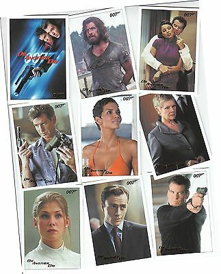 """2017 James Bond Archives Final Edition - 83 """"Die Another Day"""" Gold Parallel Set"""