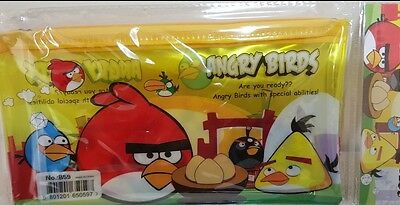 Angry bird Pencil Pen Case Cosmetic Makeup Bag Storage Pouch Purse