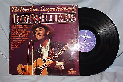 """Don Williams - """" Pozo Seco Singers feat Don Williams"""" L.P."""