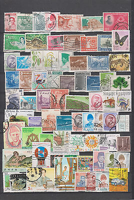 timbres d asie lot  m