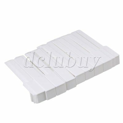 Full set of 52 white keytops,replacement piano keytops