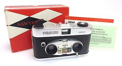 Sawyer's View-Master Stereo Color Camera #11258, Lens 2,8/20mm + OVP br127
