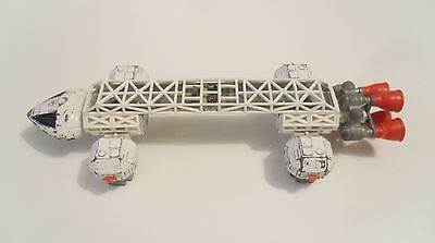 Dinky - Gerry Anderson Space 1999 Eagle Freighter White With Engine Rocket