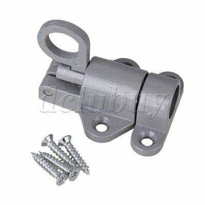 Spring Loaded Aluminum Alloy Security Barrel Bolt Latch Automatically Latch 58mm