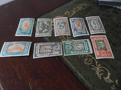 Ethiopie - Collection Of 9 Old Stamps
