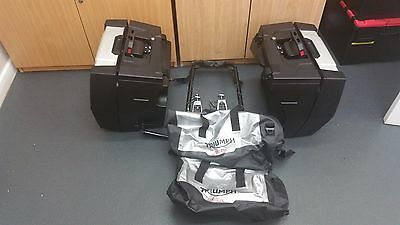 triumph tiger luggage and mounting bracket good condition