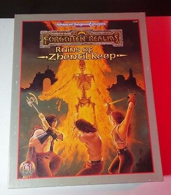 Ruins of Zhentil Keep - Forgotten Realms AD&D 2nd Ed. COMPLETE! INSIDE = NM/MT