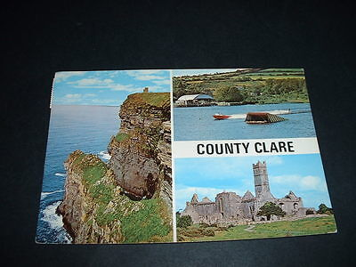 IRISH POSTCARD  Co CLARE  IRELAND