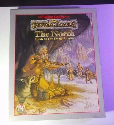 The North - Forgotten Realms AD&D 2nd Ed. COMPLETE! INSIDE = NM/MT