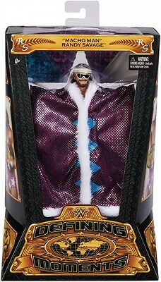 WWE Elite Collector Defining Moments Macho Man Randy Savage Action Figure