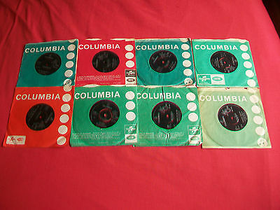 """The Dave Clark Five 8 Orig. Singles - 7"""" - Any Way,live In,everybody,tabatha-Etc"""