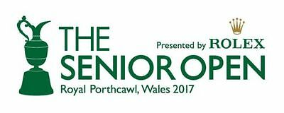 1 x Ticket to Golf Senior Open Championship at Porthcawl July 2017 RRP £26.50