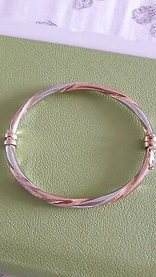 gold plated sterling silver bracelet