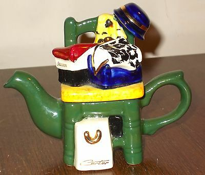 Tony Carter novelty teapot - small size - chair etc