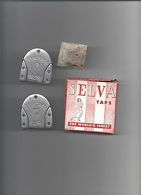 Old Selva New York Staccato Heel No 7 Taps With Nails In Original Box