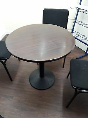 Round used cafe tables Ex Costa coffee tables