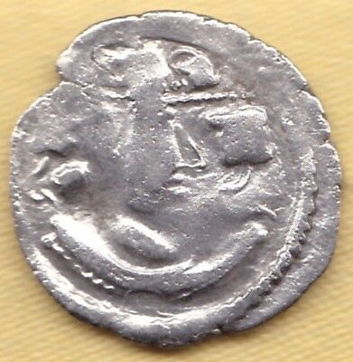 Ancient India Silver Coin King Potrait #i6