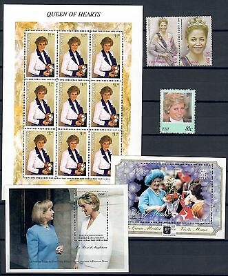 (Tf17100) Royalty, Um/mnh, Small Collection, See Scan