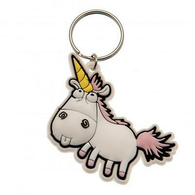Official Licensed Product Despicable Me 3 Keyring Unicorn Minions Fun Gift New