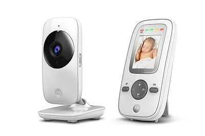Motorola MBP481 Digital Video Baby Monitor with 2 Inch Display, Night Vision