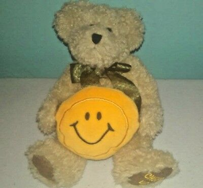 Boyds Bear Sonny the Smiley Face Bear With Bow ages 3 and up children's toy