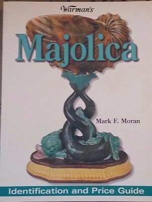 Majolica Pottery Value Guide Collector's Book 1,000 Color Photos