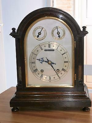 W&H Mahogany Ting Tang Quarter Striking Bracket Clock in Good Working Order