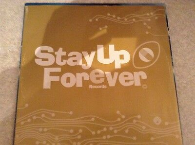 "stay up forever records - DDR - gottagetoutofit excellent condition12"" vinyl"