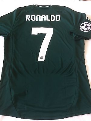 RONALDO - Real Madrid - no Match WORN - player ISSUE - Manchester - Portogallo