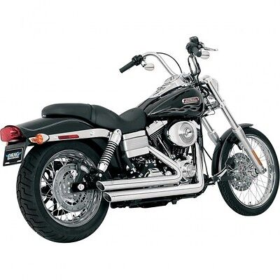 Exhaust big shots staggered chrome - 17919 - Vance & hines 18000240 (17919)