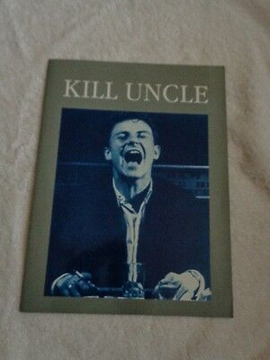 Morrissey Kill Uncle Tour Programme with Harvey Keitel cover
