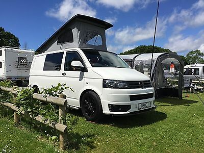 Volkswagen t5 Campervan 4 Berth professional conversion with new pop up roof