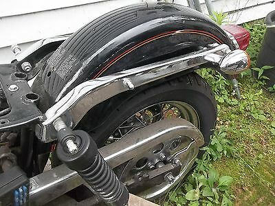 2005 Harley Dyna fender struts with the turn signals