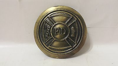1977 Great American Buckle Co Limited Editon #545 Fd Fire Department Belt Buckle