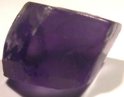 38.05 Carats, Internally Flawless Dark Amethyst Facet Rough From Bolivia