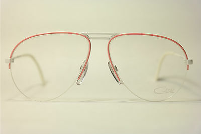 Vintage Cazal Mod. 726 Col. 329 West Germany 59[]12 135 Weiss Pink oval NOS