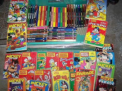 idéal collection lot 68 volumes BD MICKEY PARADE
