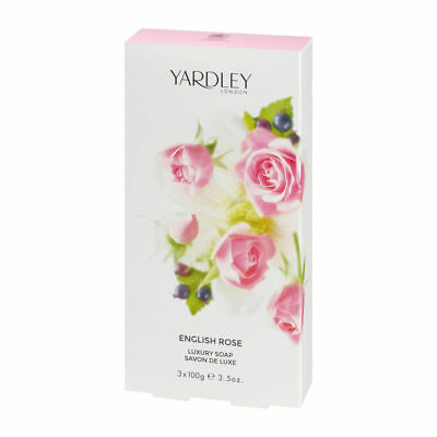 "Yardley London Luxusseife ""English Rose"" 3 x 100g"