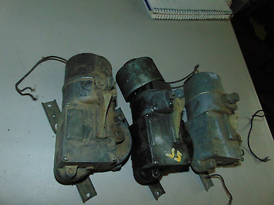 3 1955 Chevy/Chevrolet Electric Car Wiper motors