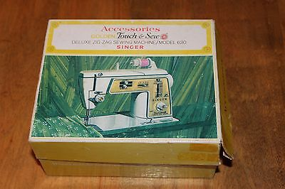 Vintage Singer accessories Golden Touch & Sew for Deluxe zig zag sewing machine
