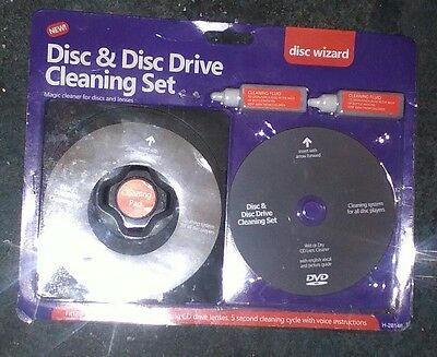 Laser Lens Cleaner Cleaning Kit PS3 XBOX 360 BLU RAY DVD PLAYER PREMIUM QUALITY