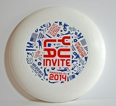 Large Youth Ultimate League of Arlington 2014 Virginia USA frisbee 27cm / 10.5""