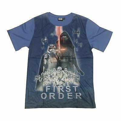 New Summer Teenage Boy T-Shirt Star Wars Size 6-14