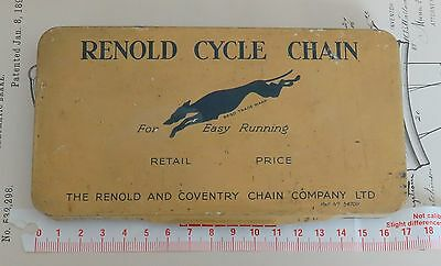RENOLD CYCLE CHAIN - Made in England - Blechdose / Tin